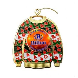 Vibraprint� Ugly Sweater Ornament (2-1/2